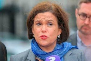 Hard to please: Sinn Féin leader Mary Lou McDonald