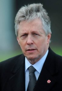 Frank: Former DUP leader Peter Robinson was denounced when he said it was prudent to plan for any outcome over the Border. Photo: Damien Eagers