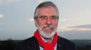 Gerry Adams wants people in Northern Ireland to be able to vote for Irish President