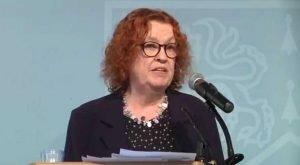 Belfast Telegraph columnist Ruth Dudley Edwards