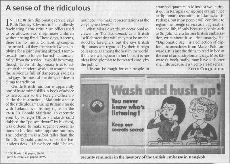 True Brits Economist review