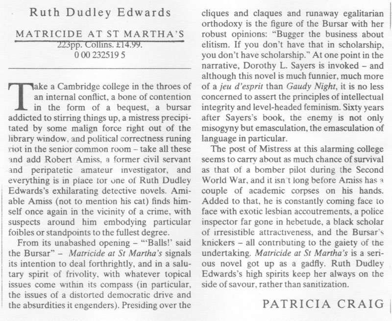 Times Literary Supplement review