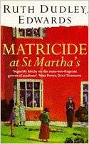 Matricide at St Martha's jacket