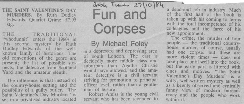 Irish Times review