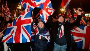 Brexit is done: People celebrating Brexit in London on Friday night