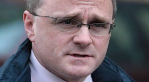 Former Sinn Fein MP for West Tyrone Barry McElduff