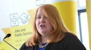 Alliance leader Naomi Long is too touchy, according to Ruth Dudley Edwards