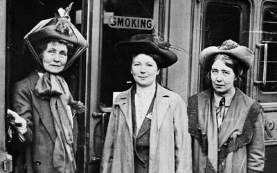 I'd have chained myself to the railings to win the vote. But pardoning suffragettes who broke the law is crazy