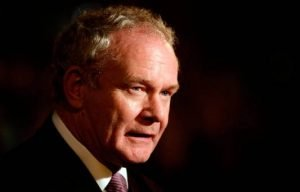 late Martin McGuinness. Photo: Niall Carson/PA Wire