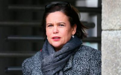 Mary Lou McDonald keeps her balance on a dangerous high-wire act