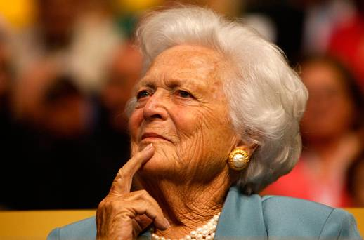 Not for nothing was Barbara Bush known as 'The Enforcer'