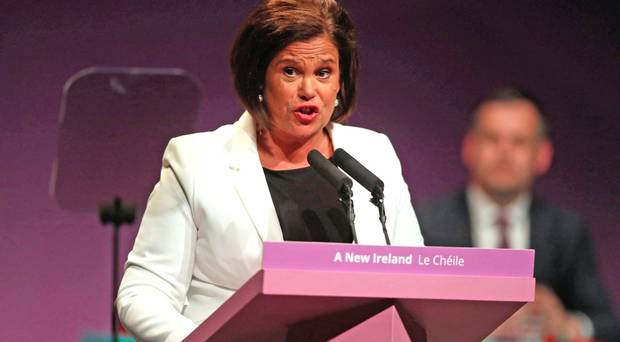 IRA bully boys just reminded Mary Lou McDonald that they are still in charge