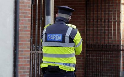 Why did the Irish Government decide to boycott commemoration of the police who were murdered?