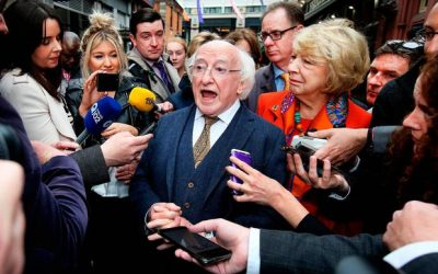 So why should we vote for Michael D Higgins again?