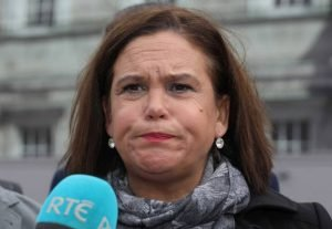 Manners: Mary Lou McDonald. Photo: RollingNews.ie
