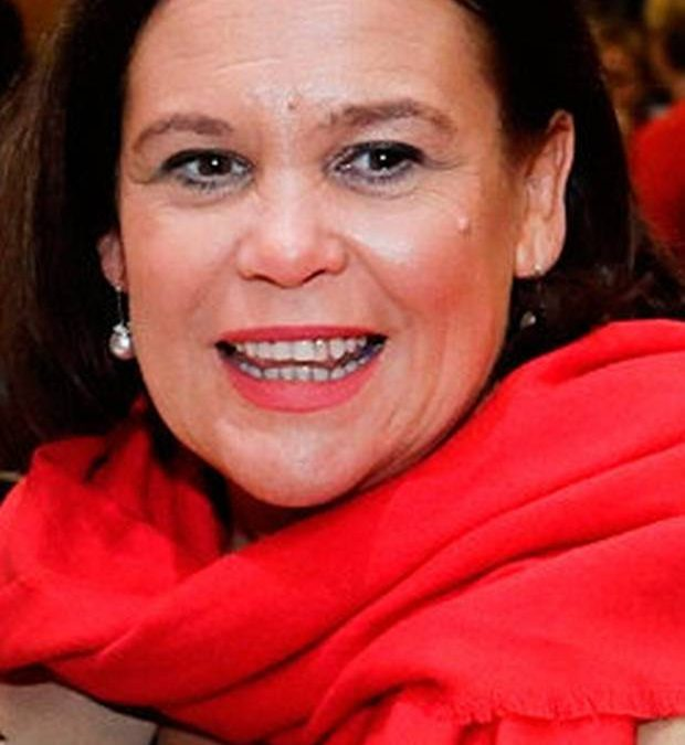back-room boys: UNDER PRESSURE: Sinn Fein leader Mary Lou McDonald