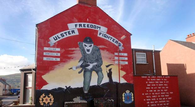 Loyalist paramilitaries are opposed to Theresa May's Withdrawal Agreement backstop