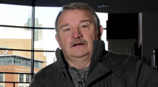 Loyalist Jim 'Bimbo' Wilson had a heated encounter with our columnist on Nolan