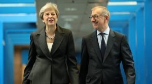 Maybe Mr May understands his wife. Prime Minister Theresa May and her husband Philip May (PA)