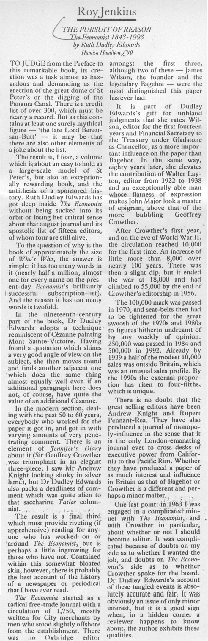 Observer review by Joy Jenkins