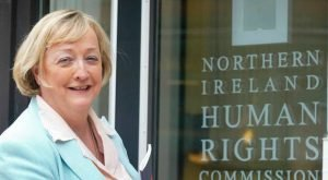 Monica McWilliams, who spent six years as chief commissioner of the NIHRC
