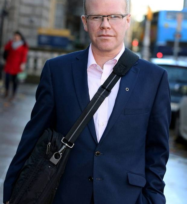 Peadar Toibin is riding a hard race in the outside lane