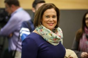 The true republican believers: Mary Lou McDonald marked Soloheadbeg. Photo: INM