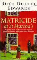 Matricide at St Martha's jacket