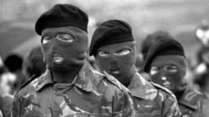 'IRA hard men are still in charge' Stock photo