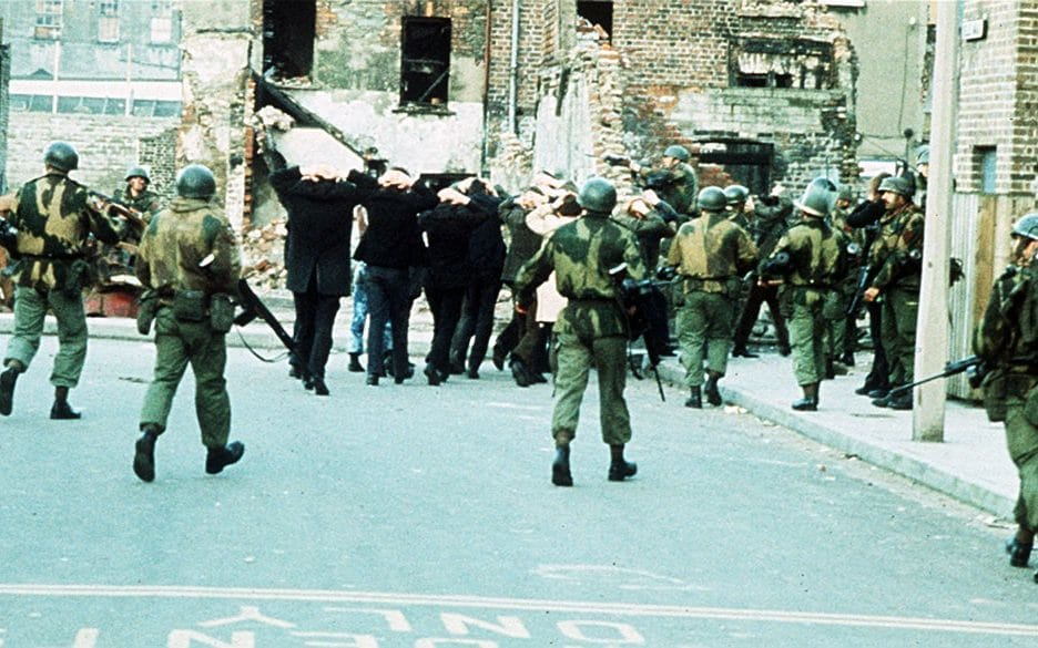 How can the government put a soldier in the dock while letting IRA killers go free?
