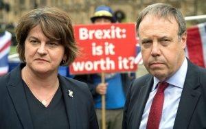 Don't underestimate Arlene Foster and Nigel Dodds CREDIT: STEFAN
