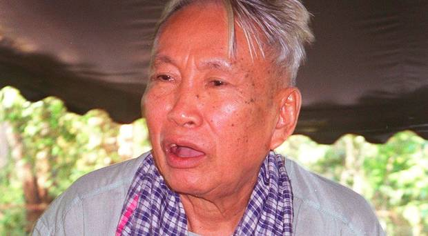Attempts to wipe out Christianity: Dictators Pol Pot of Cambodia (pictured) and Chairman Mao of China hated religious freedom