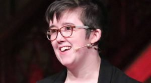 Lyra McKee gives her TED Talk at Stormont in November 2017