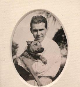 John Lippitt as a young man