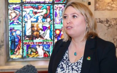 Out of her depth Bradley is to blame for vote foisting gay marriage and abortion on NI