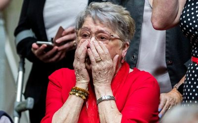 Why the killers of Lyra McKee took her beloved mother Joan's life just as surely as if they'd shot her too