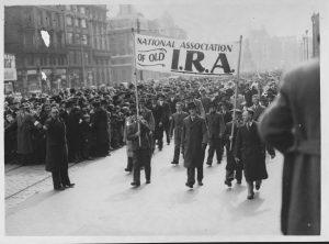 The fascists: Photo by © Hulton-Deutsch Collection/CORBIS/Corbis via Getty Images