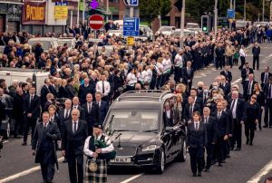 Controversy: we are asked to believe that the Bobby Storey funeral broke no regulations