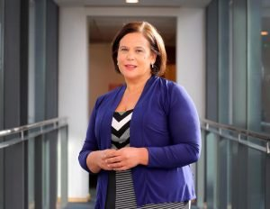 Nationalism : In charge: Sinn Fein leader Mary Lou McDonald