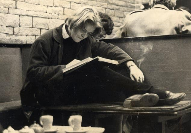 In 1959, Rose Dugdale (pictured in a coffee bar in Oxford) went to St Anne's College, Oxford, to read philosophy, politics and economics and chose to live in what, even by student standards, was squalor