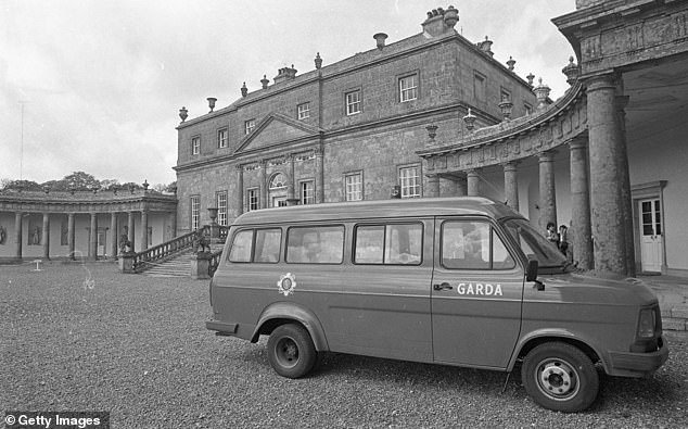 Masquerading as a Frenchwoman, Rose Dudgale raided Russborough House (pictured) in County Wicklow with three IRA accomplices, pistol-whipped the owners Sir Alfred and Lady Beit, and stole 19 Old Masters, worth around £34 million at today's prices