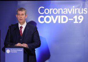 """Edwin Poots got into trouble for saying that virus transmission between nationalist and unionist areas was """"around six to one"""". His figures were exaggerated but statistics from some nationalist areas were worrying"""