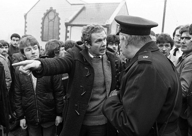 The Oxford Dictionary of National Biography says that Martin McGuinness, above at an IRA funeral in Dunloy in 1984, was ruthless and indifferent to human suffering