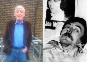 Sean O'Callaghan in his latter days, left, and, right, pictured around 1981, by when he was an IRA informer for the gardai