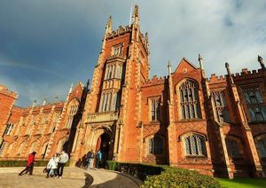 Growing up in Dublin every second student claimed to be writing something, writes Ruth Dudley Edwards. Protestant equivalents in Queen's University Belfast, above, would have been more focused on useful qualifications