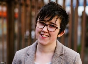 young journalist Lyra McKee (pictured) was murdered by a bullet intended for police