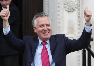 Peter Hain in May 2007, after DUP shared power with Sinn Fein, helped strike the St Andrews deal to restore Stormont, the ramifications of which still haunt us. Photo: Niall Carson/Pool/PA Wire