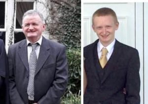 Tadg O'Sullivan and his son, Diarmuid who killed themselves after killing Tadgh' son and Diarmuid's brother Mark