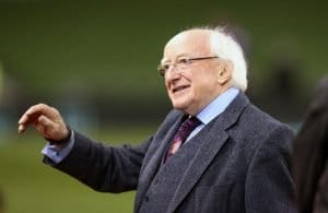 Feeding public opinion with anti-enterprise and nationalist politics, President Michael D Higgins is playing straight into the hands of Sinn Fein. No wonder they are on his side