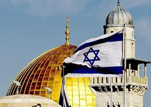 An Israeli flag flies in Jerusalem. As the victims of centuries of hatred and persecution, the Jews need their own state. But with good reason, the Israeli foreign service assesses Ireland as probably the most hostile European government